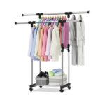 Телескопическая стойка для одежды