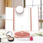 Тройное LED зеркало для макияжа