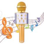 Беспроводной караоке микрофон с Блютузом