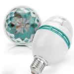 Диско — лампа с автоматическим вращением