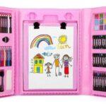 Детский набор для рисования 208 предметов