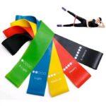 Набор резинок для фитнеса и тренировок