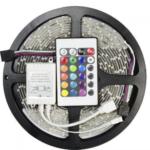 Світлодіодна RGB стрічка 5м + пульт + блок
