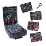 Набір 408 інструментів у валізі