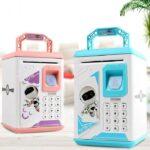 Електронний дитячий робот-скарбничка