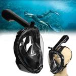 Маска для підводного плавання з трубкою