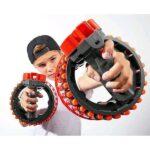 Іграшкова зброя-бластер на 28 патронів